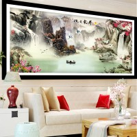 DIY Diamond Painting full Waterfall air terjun 160×65cm D336B