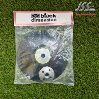Black Dimension - Backing Plate Wool Ikat size 7inch
