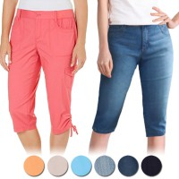 New Arrival !Twill Ladies 7/8 & 3/4 - Good Quality - Celana Wanita - Celana Santai