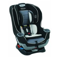 Graco Extend2Fit Convertible Car Seat 8AQ006OT Gotham