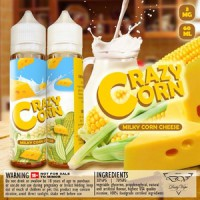 Daily Vape Crazy Corn - Milky Corn Cheese - 60ml 3mg Liquid Vapor