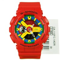 G-Shock GA-110 Jam Tangan Dual Time Sport Pria Red