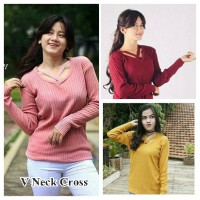 V-Neck Cross