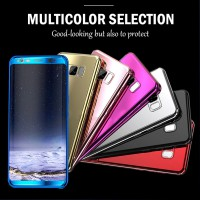 SVL Iphone XS / TEN Case 360 Chrome Full Protection Cover Casing Hardcase