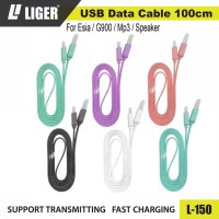 LIGER L-150 Kabel Data Original Fast Charging - For Esia / G900 / MP3 / Speaker