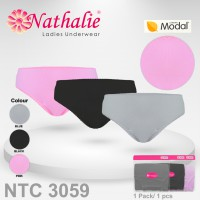 Nathalie Midi Perfect Panty Celana Dalam Wanita (1 Pack 1 Pcs) NTC 3059 - Multi Colour