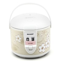 Sharp Rice Cooker KS-R18MS-BR - Kapasitas 1.8 L
