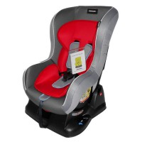 Car Seat BabyDoes 860 Red Grey