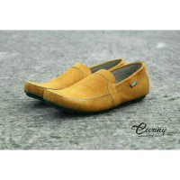 cevany slop . sepatu pria casual santai formal slop slip on flat