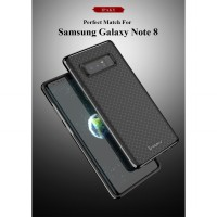 Samsung Galaxy Note 8 Softcase Neo Hybrid Rubber Case Ipaky Original - Black