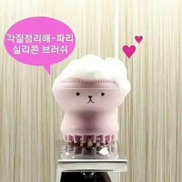 Etude house my beauty tool exfoliating silicone brush muka wajah
