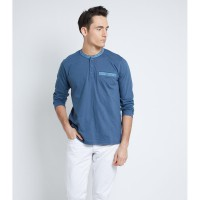 Alive Pakaian Pria Farly Blue S-TKFYB6S