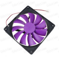 [globalbuy] 1Pcs GDT XH2.54-2P 14CM 140MM 140x25MM 24V Brushless Cooler Air Cooling Fan/1689746
