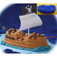 Cetakan Kue / Puding Pirate Ship