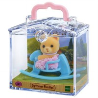 SYLVANIAN FAMILIES BABY CARRY CASE (BEAR/ROCK)