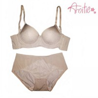 Bra set Amitie nude with lace