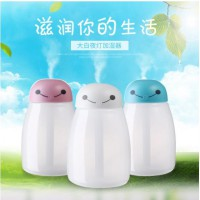 USB Baymax Anion Moisturizing Humidifier Colorful LED -400ML