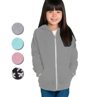 (LIVE LOVE DREAM) Girls Knit Hoodie Full Zipper| Size S to XL | Knit Polyester