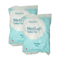 Medisoft Cotton Ball Kapas Bola 1 BUNGKUS (2 bag)
