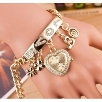 Korean fashion LOVE bracelet watch Tangan Fesyen Model Baru