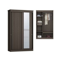 Anya Living Lemari Pakaian Havana 253 Sliding - Brown Oak