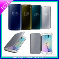 #Casing & Cover Flip Mirror Wallet Samsung S8 5.8 inchi Flipcover Clear View Autolock