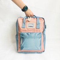 Tas Go Backpack Two Tone Pastel