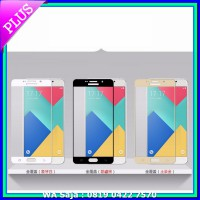#Screen Guard Tempered Glass Full 3D Samsung A9 Pro 2016 Anti Gores Curved Warna