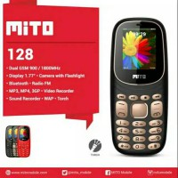 Mito 128 - Black/Red/Black Gold