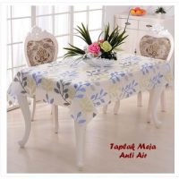 Taplak Meja Anti Air - DAUN BIRU - 30874 SJ0051