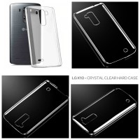 LG K10 Crystal Clear Hard Case Casing Cover