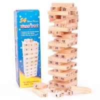 WOODEN WISS TOYS STACKO KAYU / WARNA