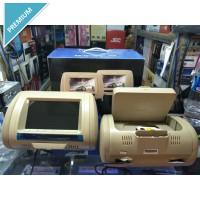 Tv Mobil/Dvd Headrest Sandaran Kepala 1 Dvd/Usb/Sd/Game 1 Tv Laya 7