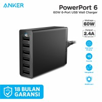 Wall Charger Anker PowerPort 6 - A2123