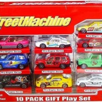Mainan Diecast StreetMachine 10pcs
