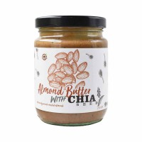House Of Organix Almond Butter with Chia Seeds 250 Gr