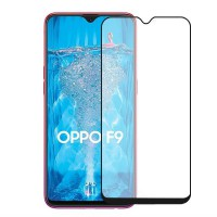 Vivan Tempered Glass Full Cover 2.5D Oppo F9 - Hitam