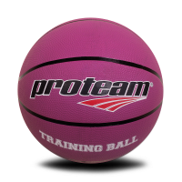 Proteam Basket Rubber Training Ball Purple 5 Kg