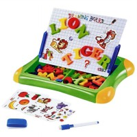 Mainan Edukasi Magnetic Learning Case - Papan tulis Magnetic 2 in 1