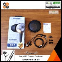 Rexus EP2 Gaming Earphones with Microphone - Free Pouch