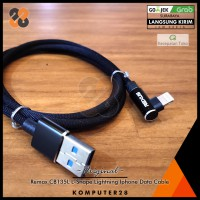 Rexus CB135L L-Shape Lightning iPhone Data Braided Cable - Gaming