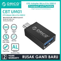 ORICO OTG Micro USB to USB3.0 Adapter - CBT-UM - BLACK