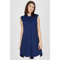 [BERRYBENKA] Elif Navy Top