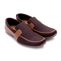 Dr.Kevin Men Shoes Canvas 2 Pilihan: 13159 Brown, 13168 Coffee