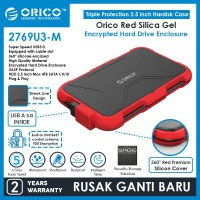 ORICO 2.5-Inch Hard Drive Enclosure with Encryption - 2769U3-M