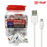 TEWE KABEL DATA QUALCOMM QUICK CHARGING 3.0 FOR MICRO/V8 100CM