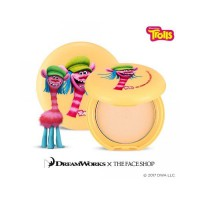 The Face Shop - Oil Clear Smooth and Bright Pact Trolls Edition