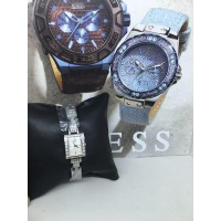 FULL CRYSTAL STRAP GUESS WATCH