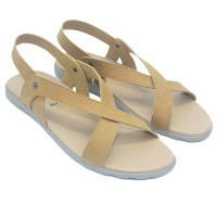 Dr.Kevin Women Sandals Jasmine 26130 - 2 Colors [ Tan,Navy ]