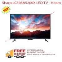 Sharp LC50SA5200X LED TV - Hitam-Promo